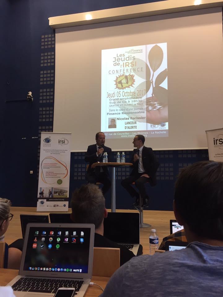 Conférence ESC la Rochelle